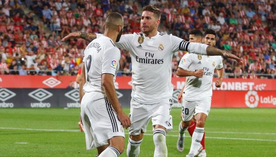 أهداف مباراة ريال مدريد وجيرونا 4-1 الدوري الإسباني
