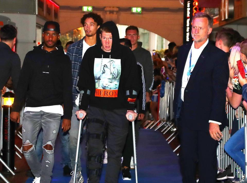 عاجل: دي بروين يتعرض لإصابة خطيرة تهدد موسمه مع مانشستر سيتي