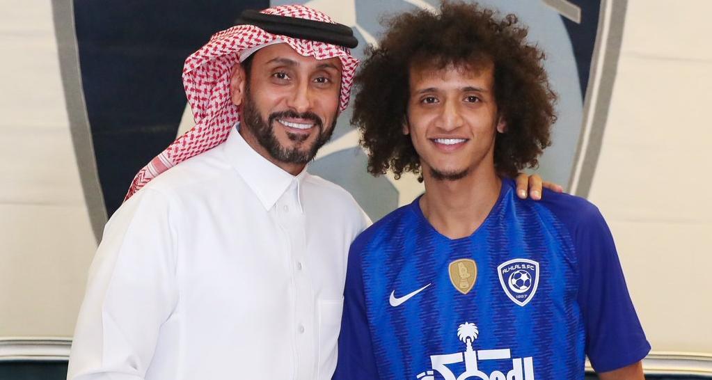 """رسمياً … النجم الإماراتي """"عموري"""" ينتقل إلى الهلال السعودي"""