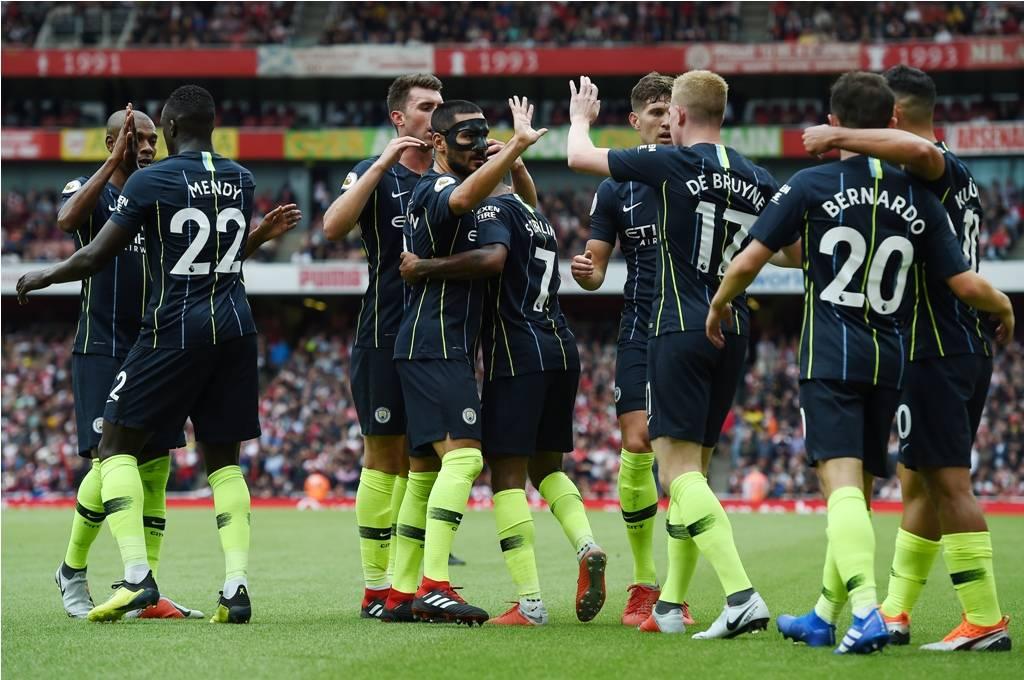 أهداف مباراة أرسنال ومانشستر سيتي 0-2 الدوري الإنجليزي