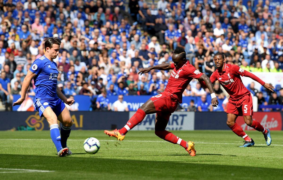 أهداف مباراة ليفربول وليستر سيتي 2-1 الدوري الإنجليزي