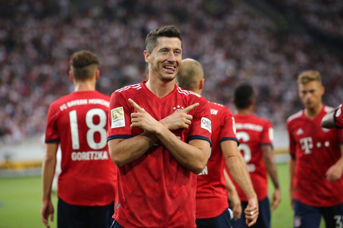 أهداف مباراة بايرن ميونخ وشتوتغارت 3-0 الدوري الألماني