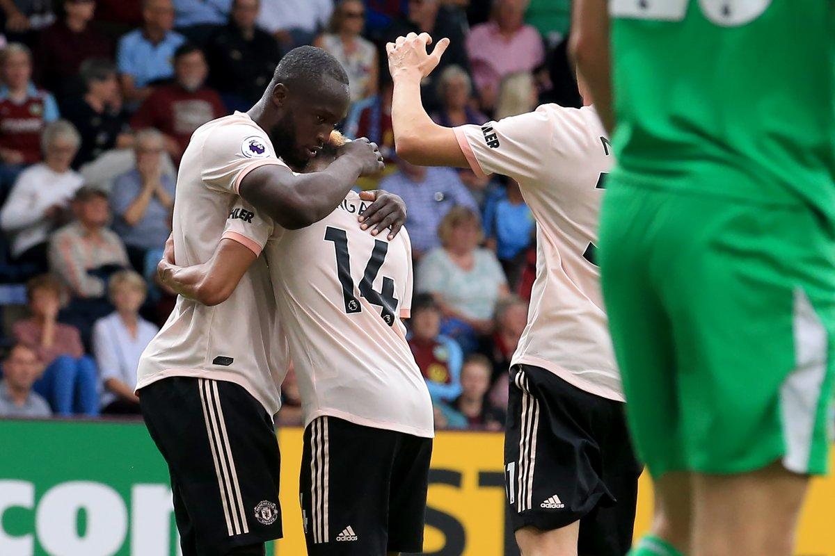 أهداف مباراة مانشستر يونايتد وبيرنلي 2-0 الدوري الإنجليزي