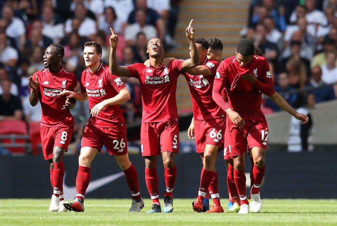 أهداف مباراة توتنهام وليفربول 1-2 الدوري الإنجليزي