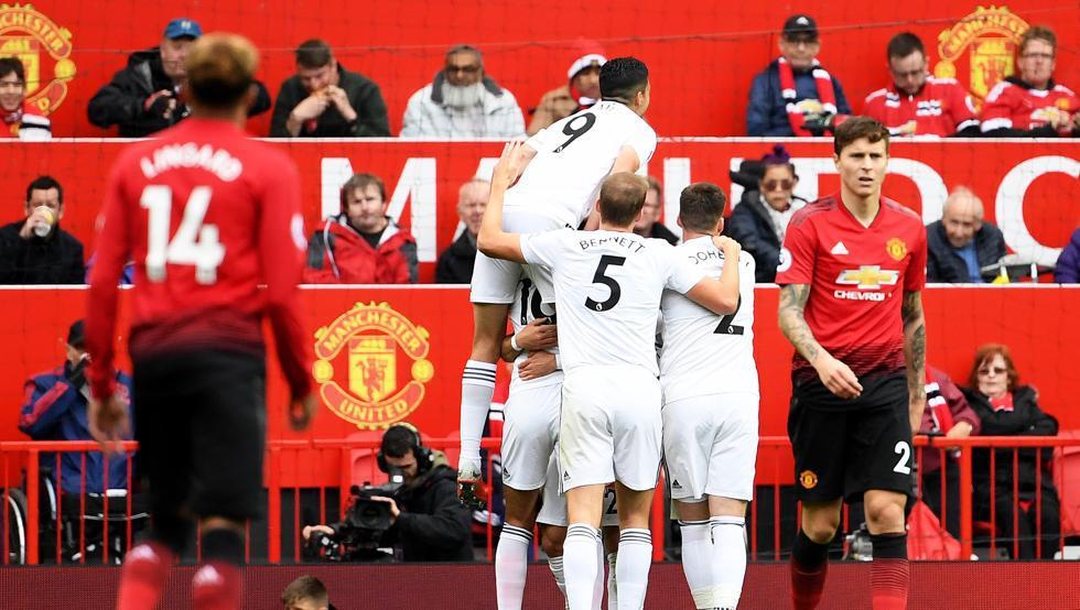 أهداف مباراة مانشستر يونايتد وولفرهامبتون 1-1 الدوري الإنجليزي