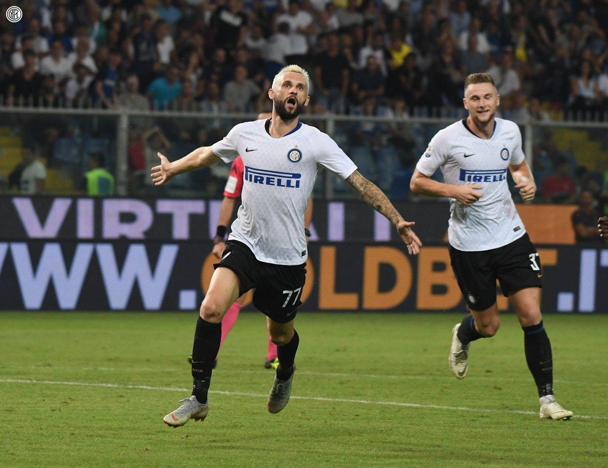 اهداف مباراة إنتر ميلان وسامبدوريا 1-0 الدوري الإيطالي