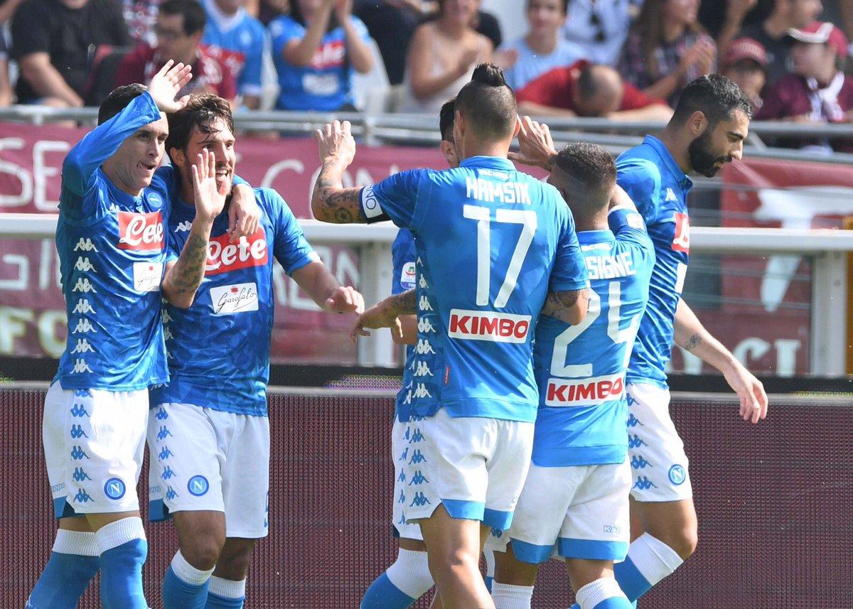 اهداف مباراة نابولي وتورينو 3-1 الدوري الإيطالي