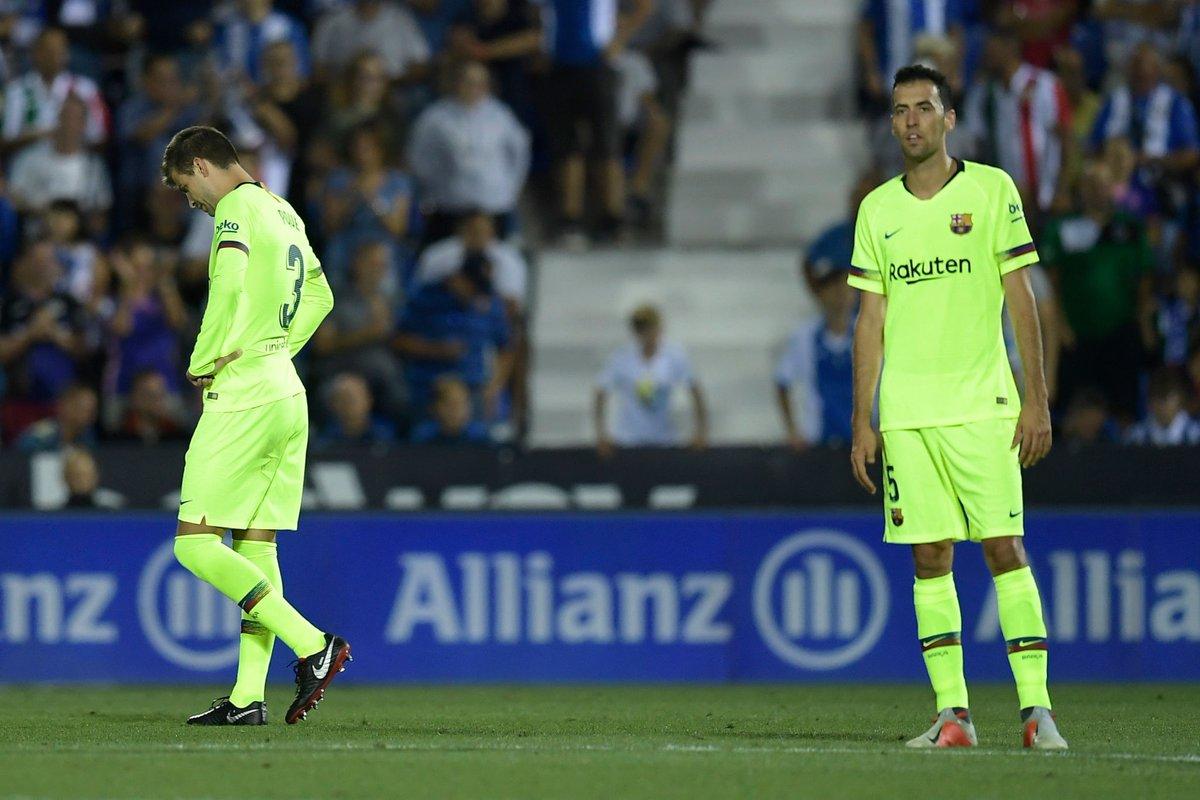 أهداف مباراة ليجانيس وبرشلونة 2-1 الدوري الإسباني