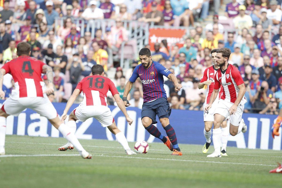 أهداف مباراة برشلونة وأتلتيكو بلباو 1-1 الدوري الإٍسباني