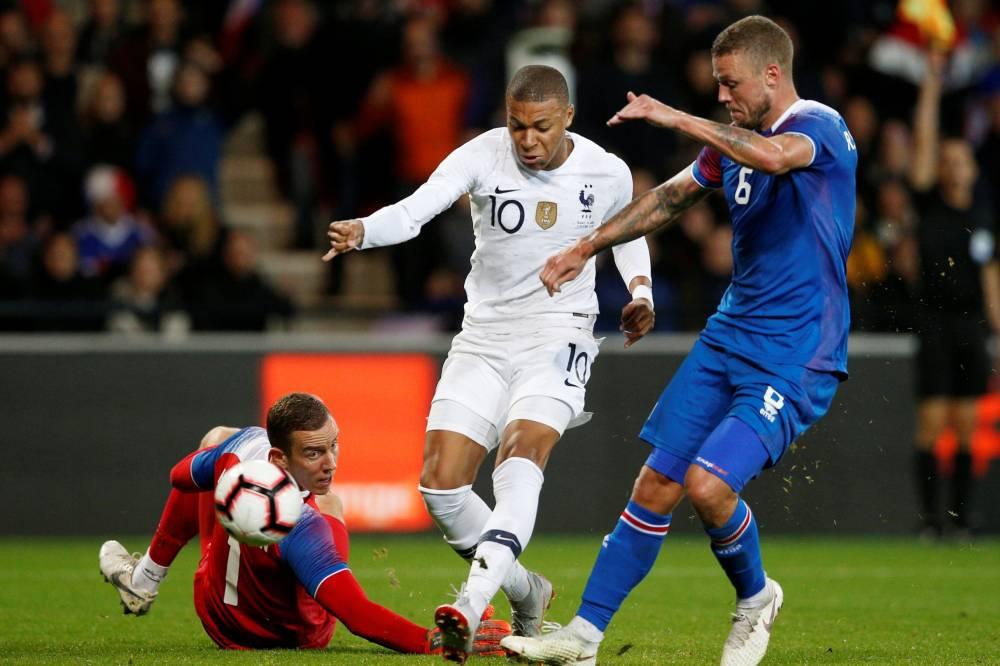 أهداف مباراة فرنسا وأيسلندا 2-2 مباراة ودية