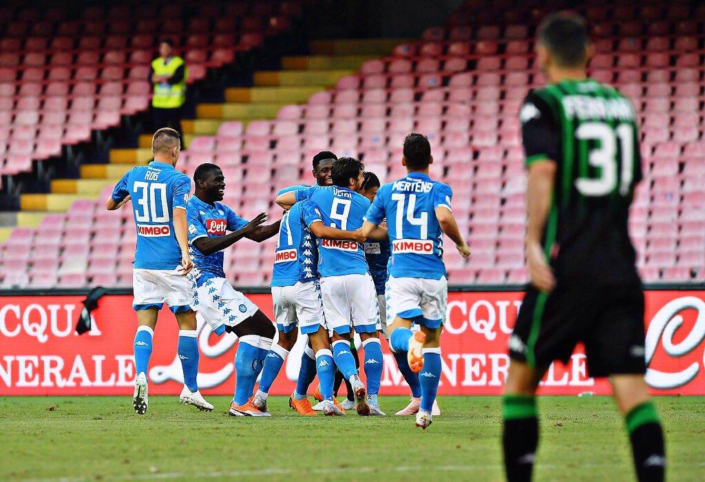 أهداف مباراة نابولي وساسولو 2-0 الدوري الإيطالي