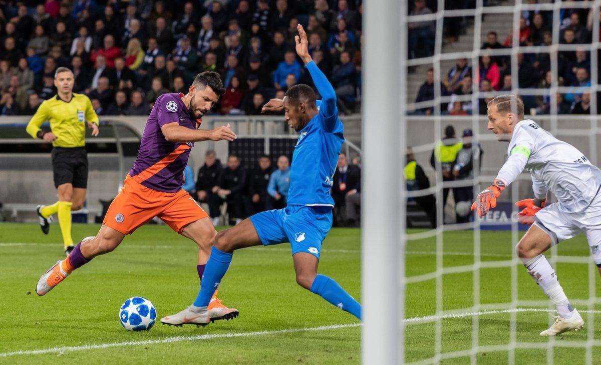 أهداف مباراة مانشستر سيتي وهوفنهايم 2-1 دوري الأبطال