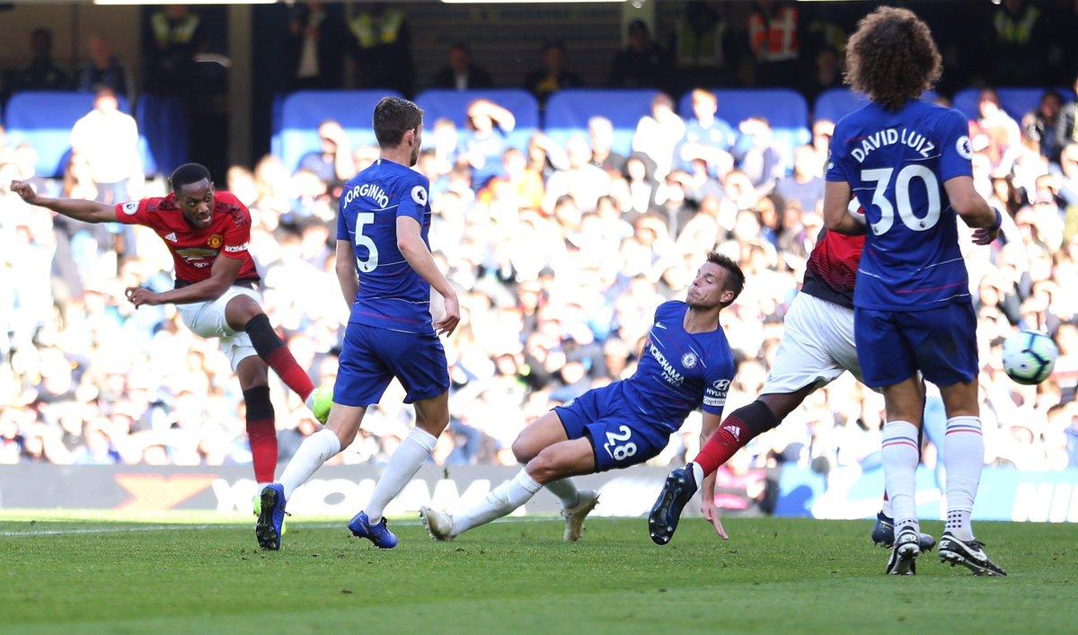 أهداف مباراة نيوكاسيل ومانشستر يونايتد 1-0 الدوري الإنجليزي