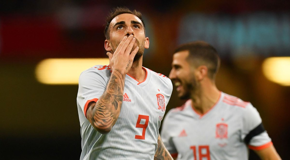 أهداف مباراة إسبانيا وويلز 4-1 مباراة ودية