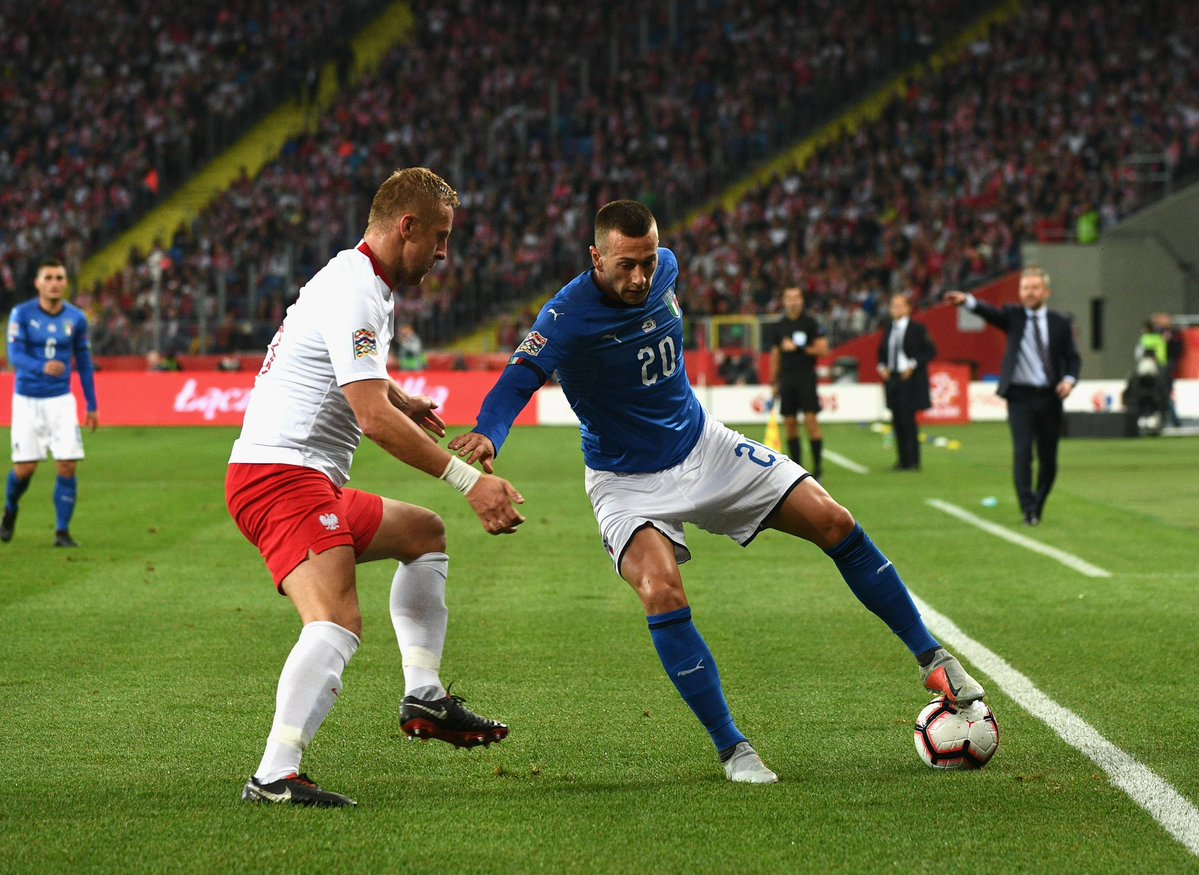 أهداف مباراة إيطاليا وبولندا 1-0 دوري الأمم الأوروبية
