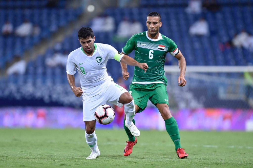 أهداف مباراة السعودية والعراق 1-1 بطولة سوبر كلاسيكو