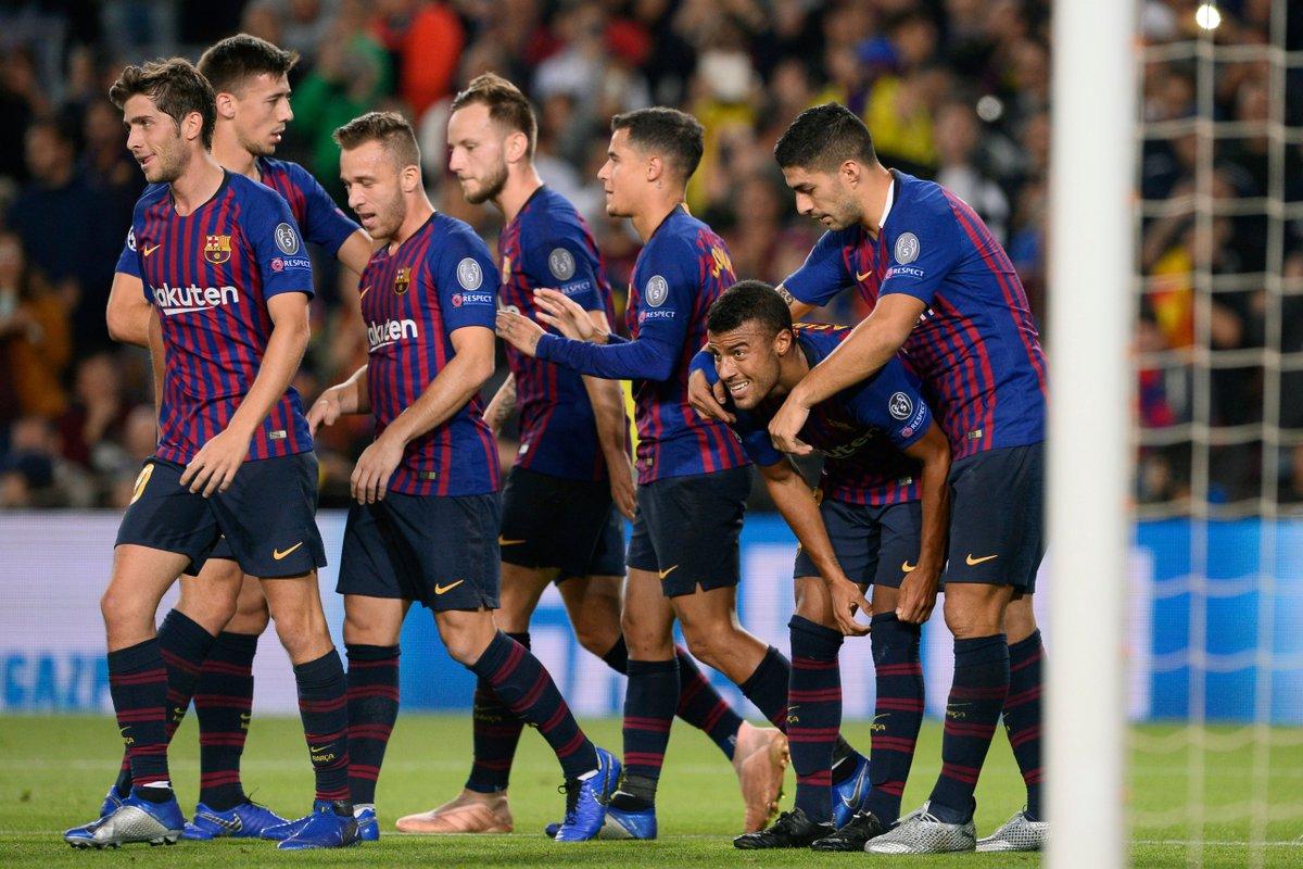 أهداف مباراة برشلونة وإنتر ميلان 2-0 دوري الأبطال