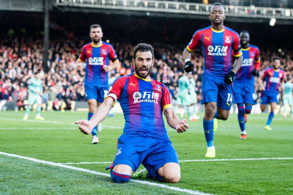 أهداف مباراة كريستال بالاس وأرسنال 2-2 الدوري الإنجليزي