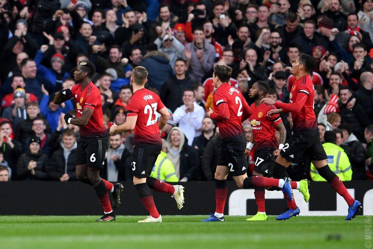 أهداف مباراة مانشستر يونايتد وإيفرتون 2-1 الدوري الإنجليزي