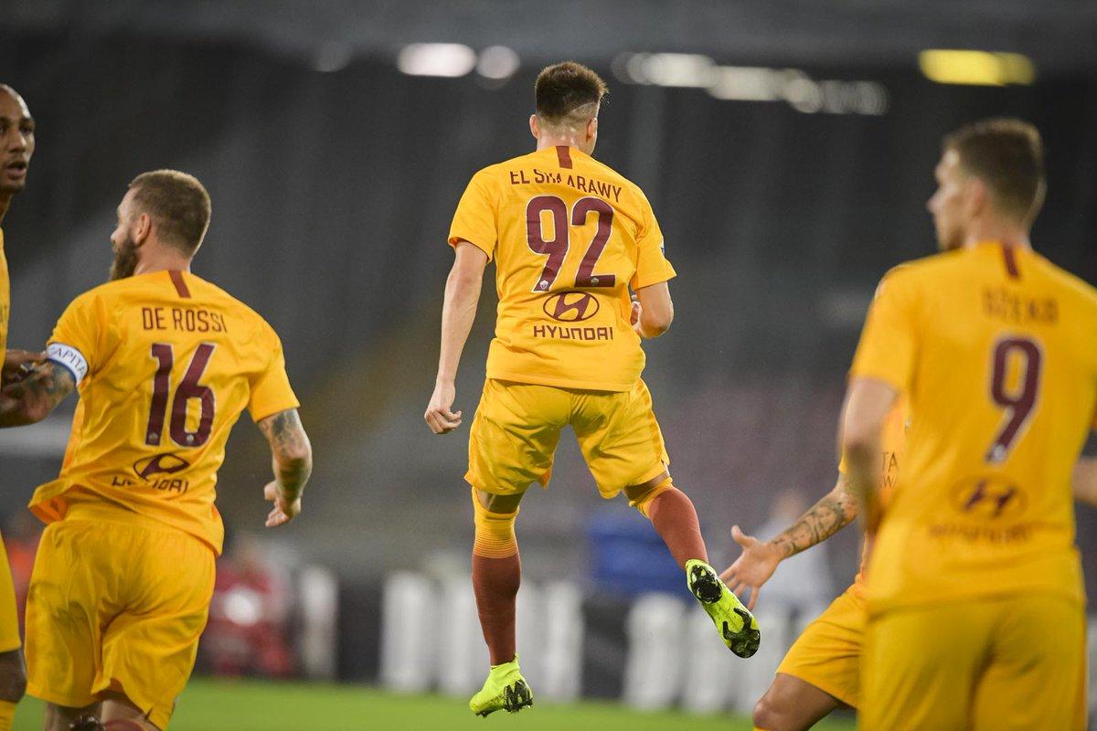 أهداف مباراة نابولي وروما 1-1 الدوري الإيطالي