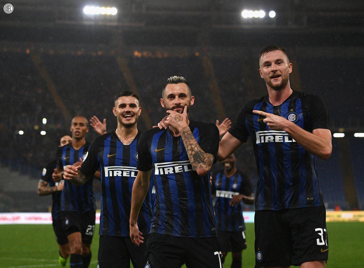أهداف مباراة إنتر ميلان ولاتسيو 3-0 الدوري الإيطالي
