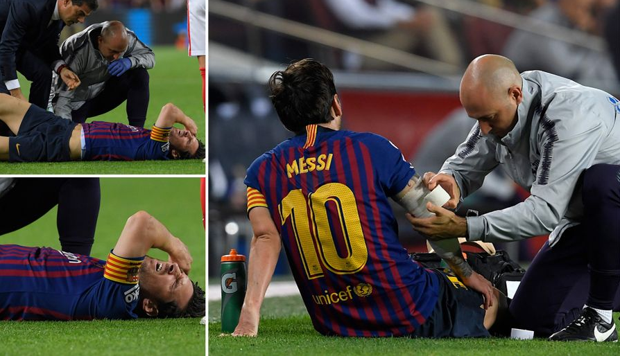 ديمبلي يغيب عن تمرين برشلونة مجدداً