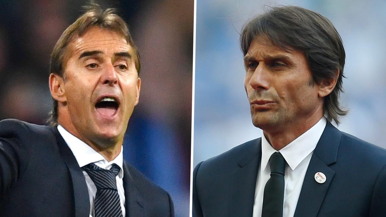 عاجل: ريال مدريد في طريقه لإقالة لوبتيجي وتعيين كونتي بدلاً منه