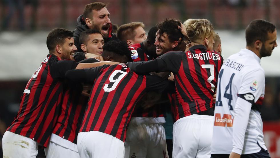 أهداف مباراة ميلان وجنوى 2-1 الدوري الإيطالي