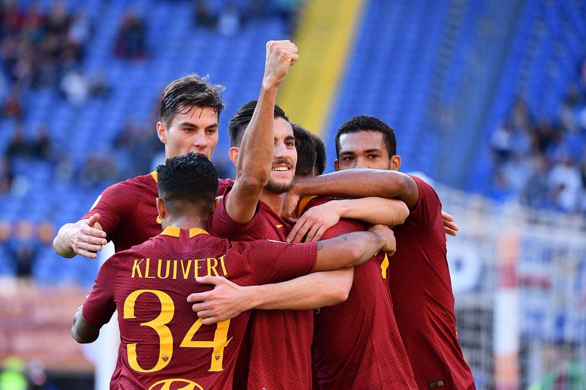 أهداف مباراة روما وسامبدوريا 4-1 الدوري الإيطالي
