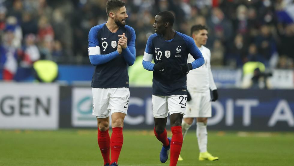 أهداف مباراة فرنسا والأوروجواي 1-0 مباراة ودية