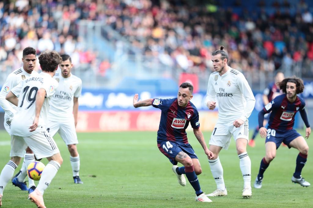 أهداف مباراة إيبار وريال مدريد 3-0 الدوري الإسباني