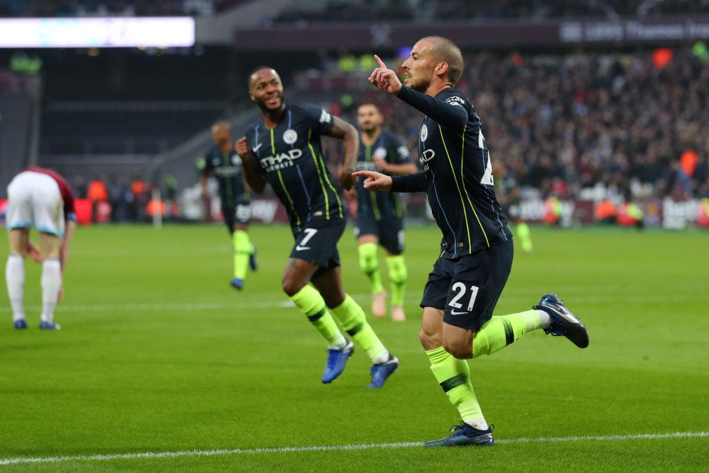 أهداف مباراة مانشستر سيتي وويست هام 4-0 الدوري الإنجليزي