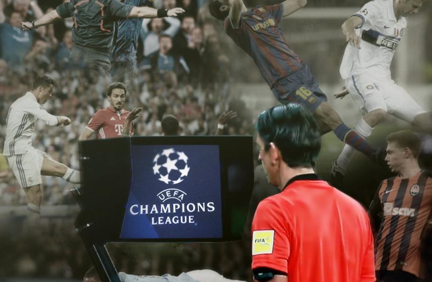 رسميًا … استخدام تقنية الفيديو في دوري الأبطال هذا الموسم