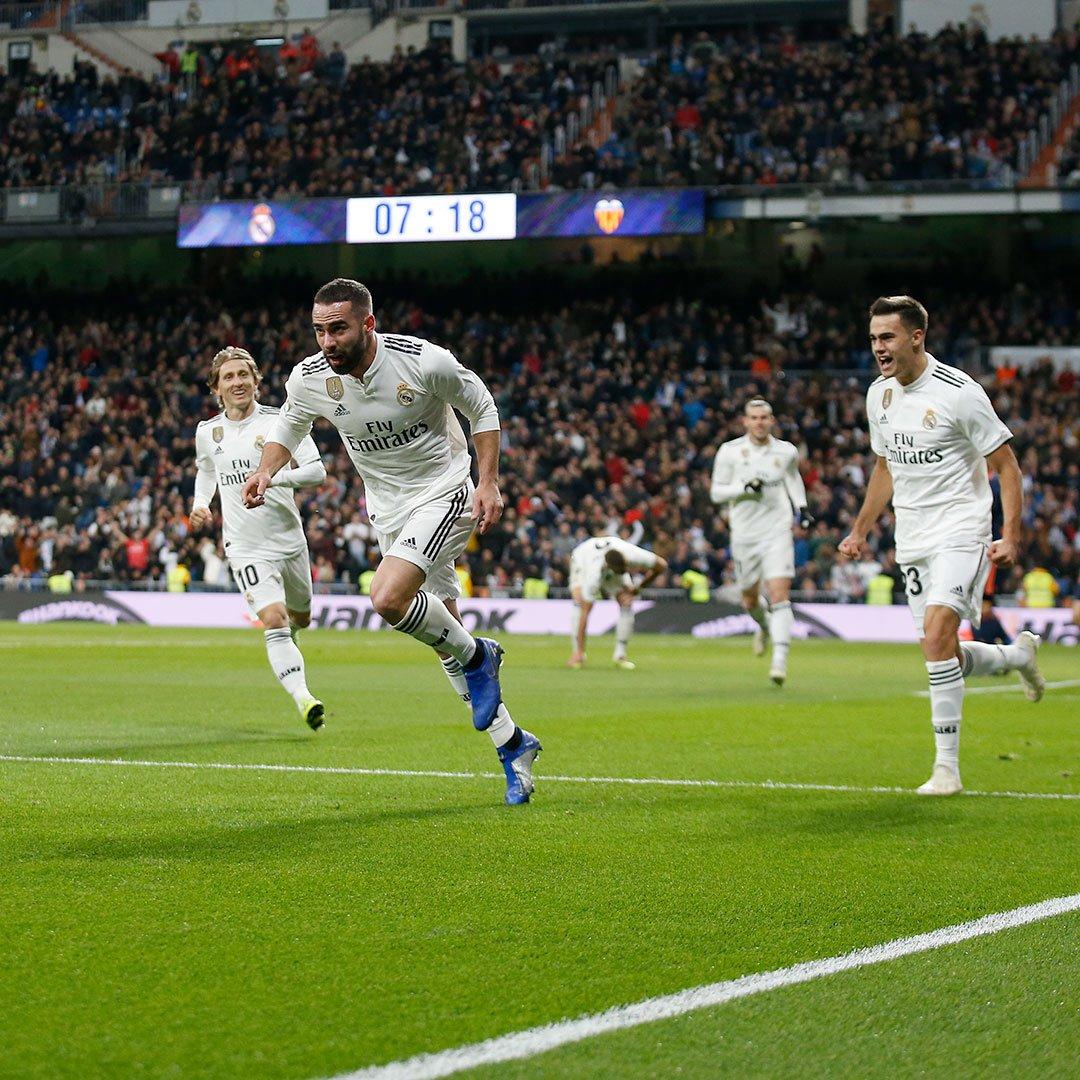 أهداف مباراة ريال مدريد وفالنسيا 2-0 الدوري الإسباني