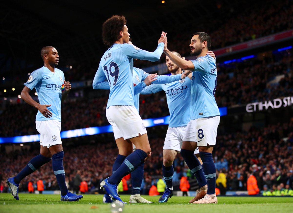 أهداف مباراة مانشستر سيتي وبورنموث 3-1 الدوري الإنجليزي