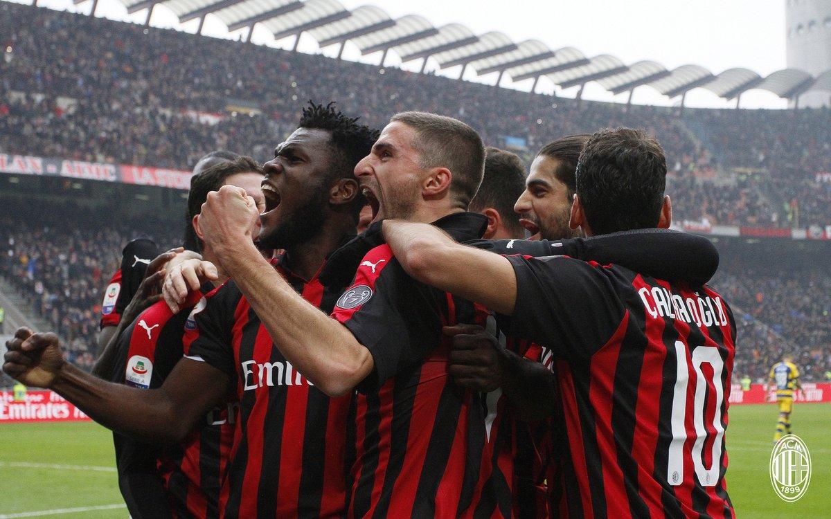 أهداف مباراة ميلان وبارما 2-1 الدوري الإيطالي