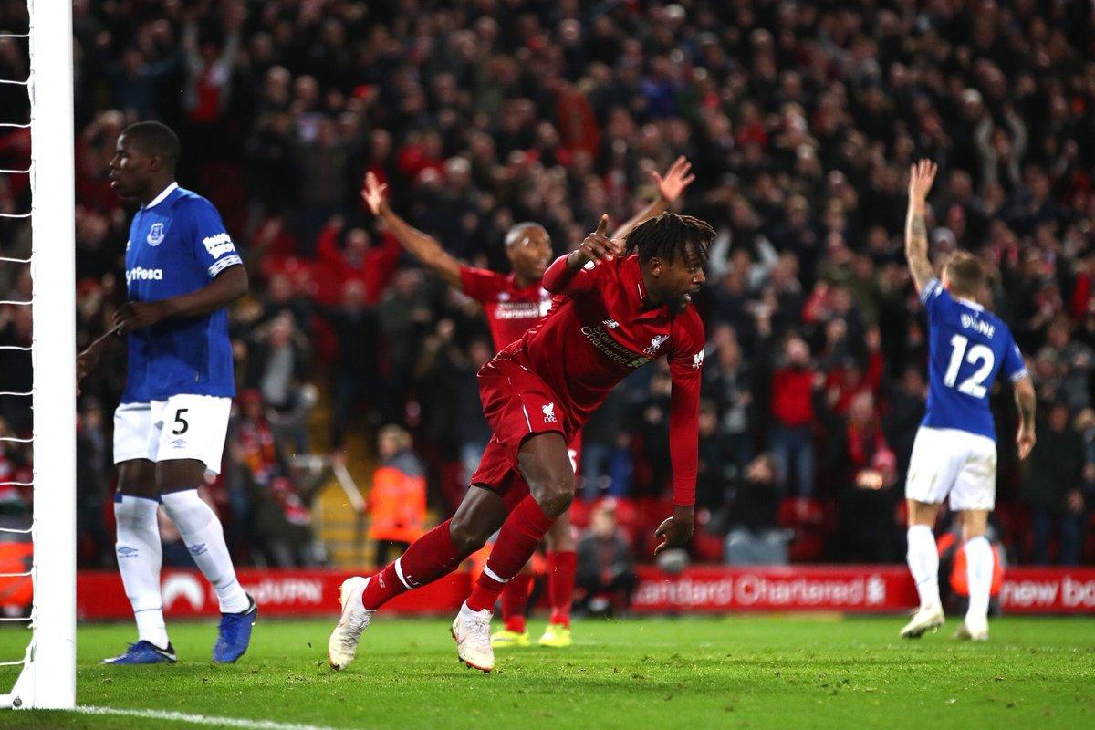أهداف مباراة ليفربول وإيفرتون 1-0 الدوري الإنجليزي