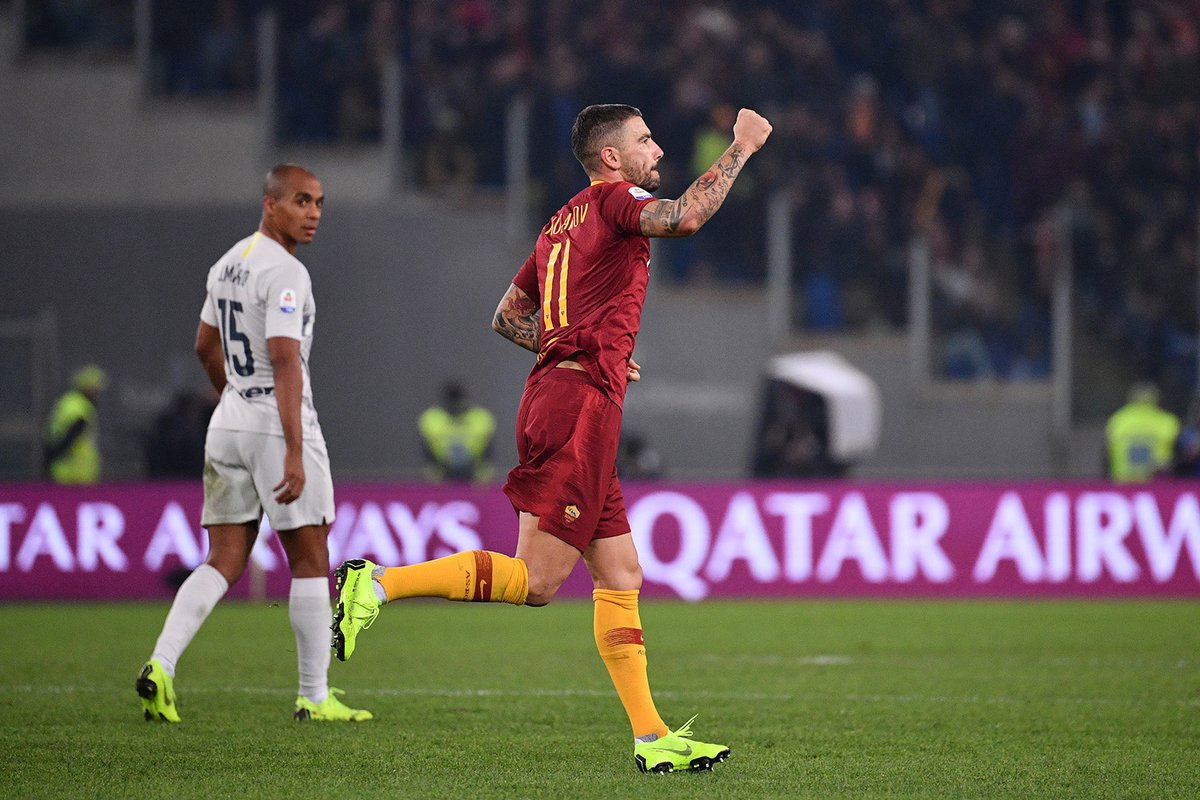 أهداف مباراة روما وإنتر ميلان 2-2 الدوري الإيطالي