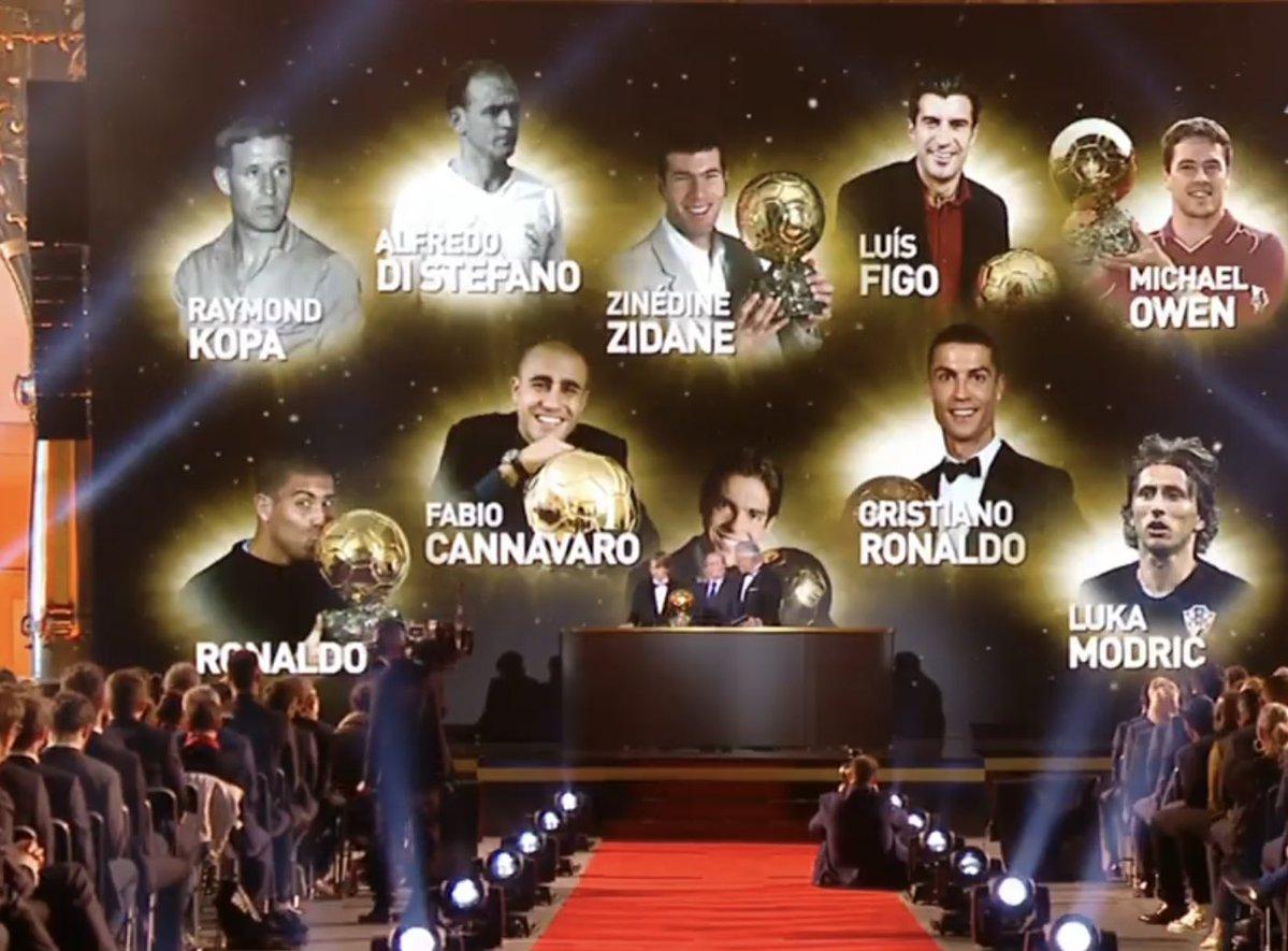 10 لاعبين من ريال مدريد فازوا بجائزة الكرة الذهبية من قبل