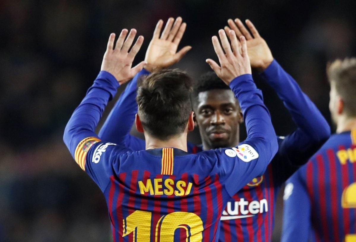 أهداف مباراة برشلونة وسيلتا فيغو 2-0 الدوري الإسباني