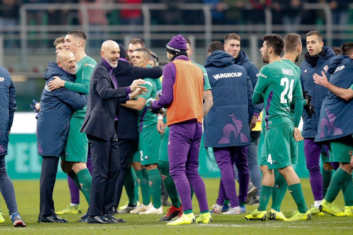 أهداف مباراة ميلان وفيورنتينا 1-2 الدوري الإيطالي