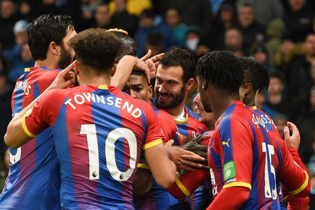 أهداف مباراة كريستال بالاس ومانشستر سيتي 3-2 الدوري الإنجليزي