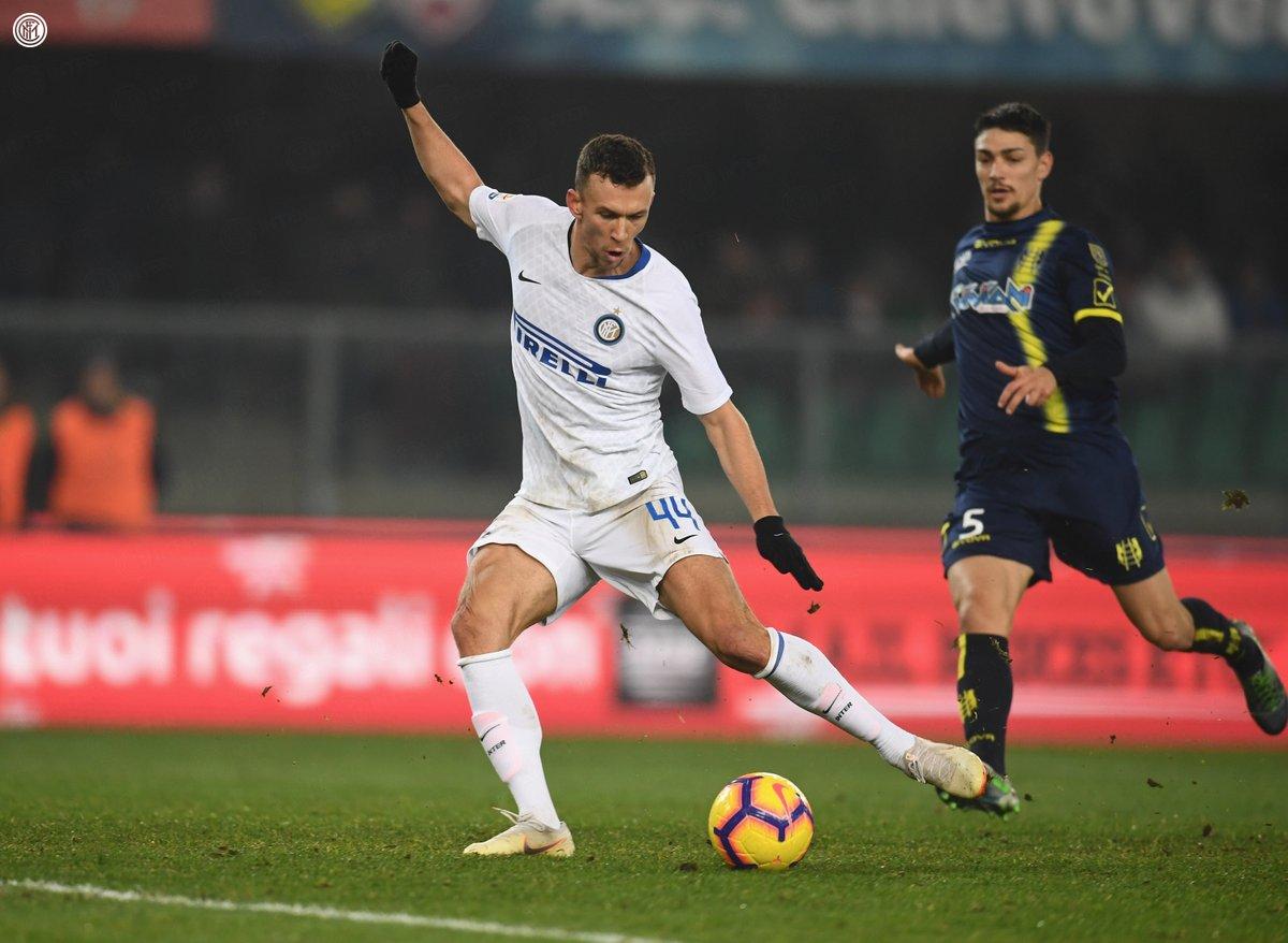أهداف مباراة إنتر ميلان وكييفو 1-1 الدوري الإيطالي