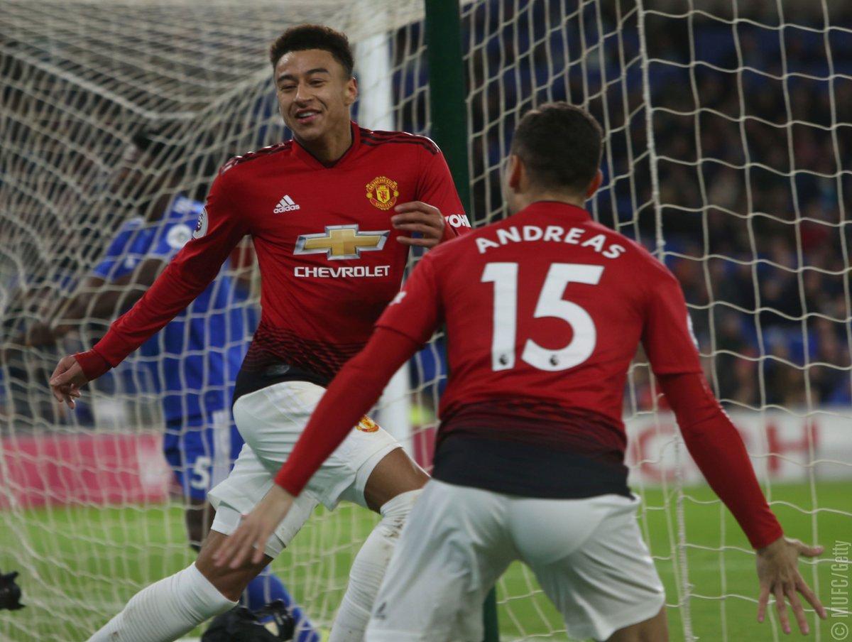أهداف مباراة مانشستر يونايتد وكارديف سيتي 5-1 الدوري الإنجليزي