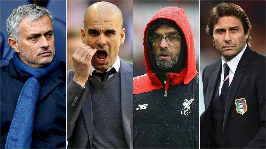 المدربين الاكثر تحقيقاً للانتصارات بعد 100 مباراة في الدوري الانجليزي
