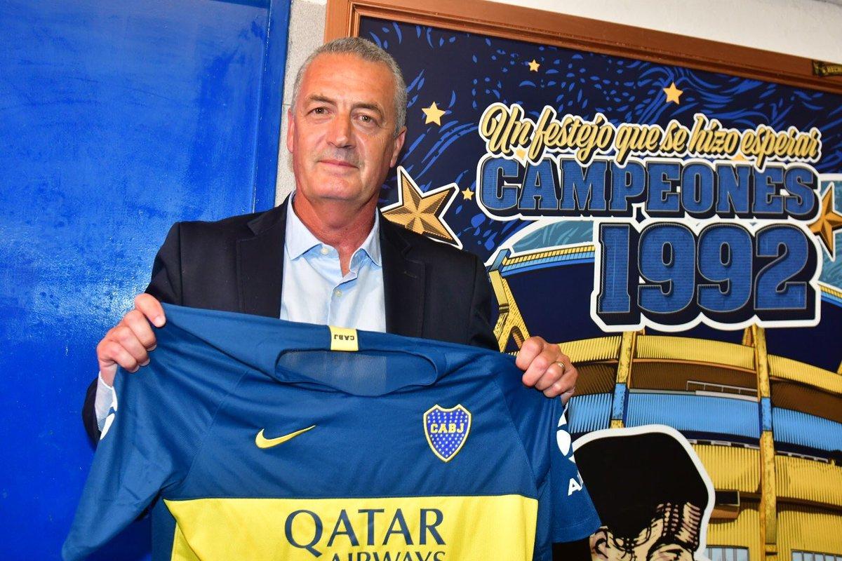 رسمياً … جوستافو ألفارو مدرباً جديداً لبوكا جونيورز الارجنتيني