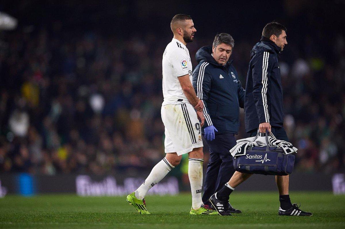 رسمياً … ريال مدريد يكشف عن حجم إصابة كريم بنزيمه