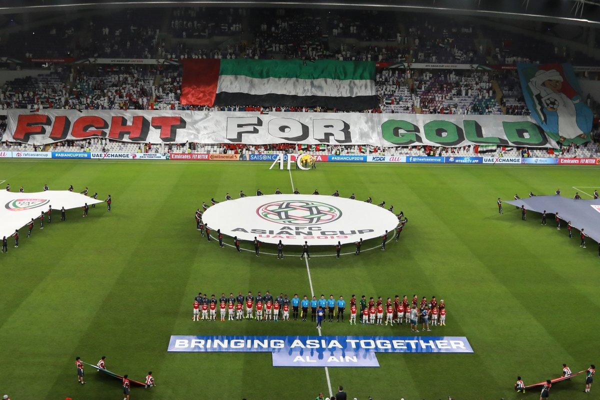 المنتخبات المتأهلة حتى الآن لدور الـ16 من كأس أسيا 2019