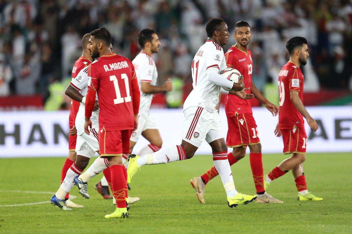 أهداف مباراة الإمارات والبحرين 1-1 كأس أسيا 2019