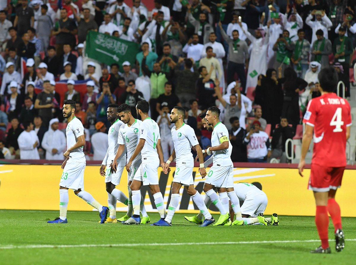 أهداف مباراة السعودية وكوريا الشمالية 4-0 كأس أسيا 2019